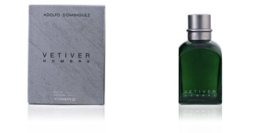 Adolfo Dominguez VETIVER HOMBRE edt vaporizador 120 ml
