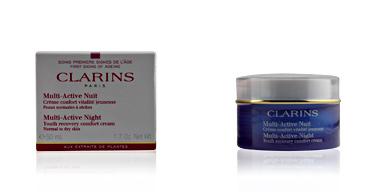 Clarins MULTI-ACTIVE crème confort nuit vitalité jeunesse PS 50 ml