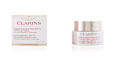 Clarins CAPITAL LUMIERE jour soin anti-age unifiant TP SPF15 50 ml