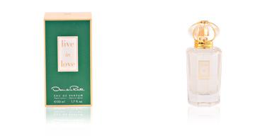 Oscar De La Renta LIVE IN LOVE eau de perfume vaporizador 50 ml