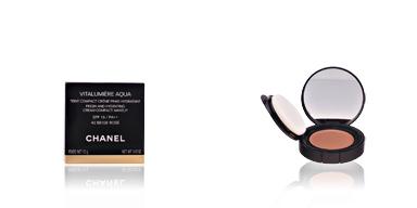 Chanel VITALUMIERE AQUA cpct #42-beige rosé 12 gr