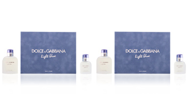 Dolce & Gabbana LIGHT BLUE HOMME LOTE 2 pz