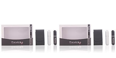 Travalo TRAVALO BLACK&SILVER SET 3 pz
