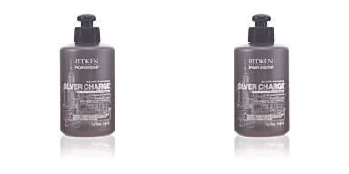 Redken FOR MEN steel lock silver charge shampoo 300 ml