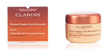Clarins SUN mousse exquise auto-bronzante 125 ml