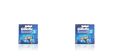 Gillette SENSOR3 cargador 4 pz