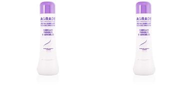 Agrado CREMA SUAVIZANTE cabello frágil o sensible 750 ml