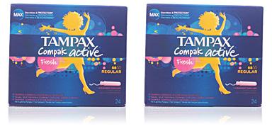 Tampax TAMPAX FRESH COMPAK tampón regular 24 uds
