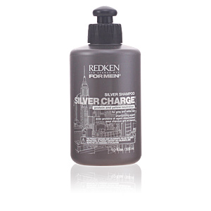 FOR MEN steel lock silver charge shampoo 300 ml