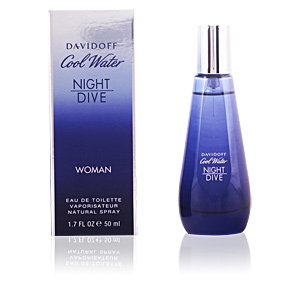 COOL WATER NIGHT DIVE WOMEN edt vaporizador 50 ml