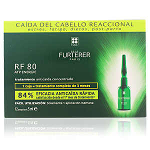 RF 80 concentrated hair loss treatment 12 x 5 ml