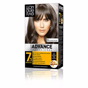 LLONGUERAS COLOR ADVANCE hair colour #3-dark brown