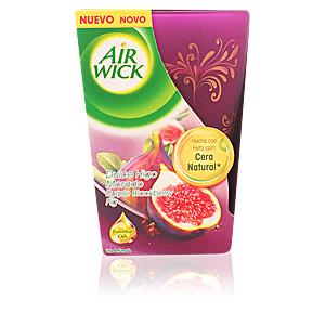 AIR-WICK ambientador vela perfumada decorada #dulce higo