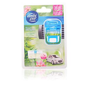 AMBIPUR CAR ambientador aparato + recambio #tatami 7 ml