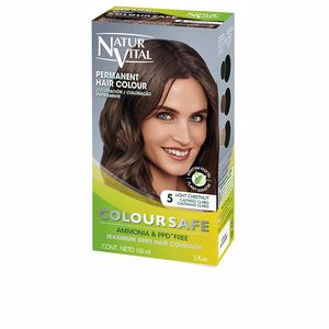 COLOURSAFE tinte permanente #5-castaño claro 150 ml